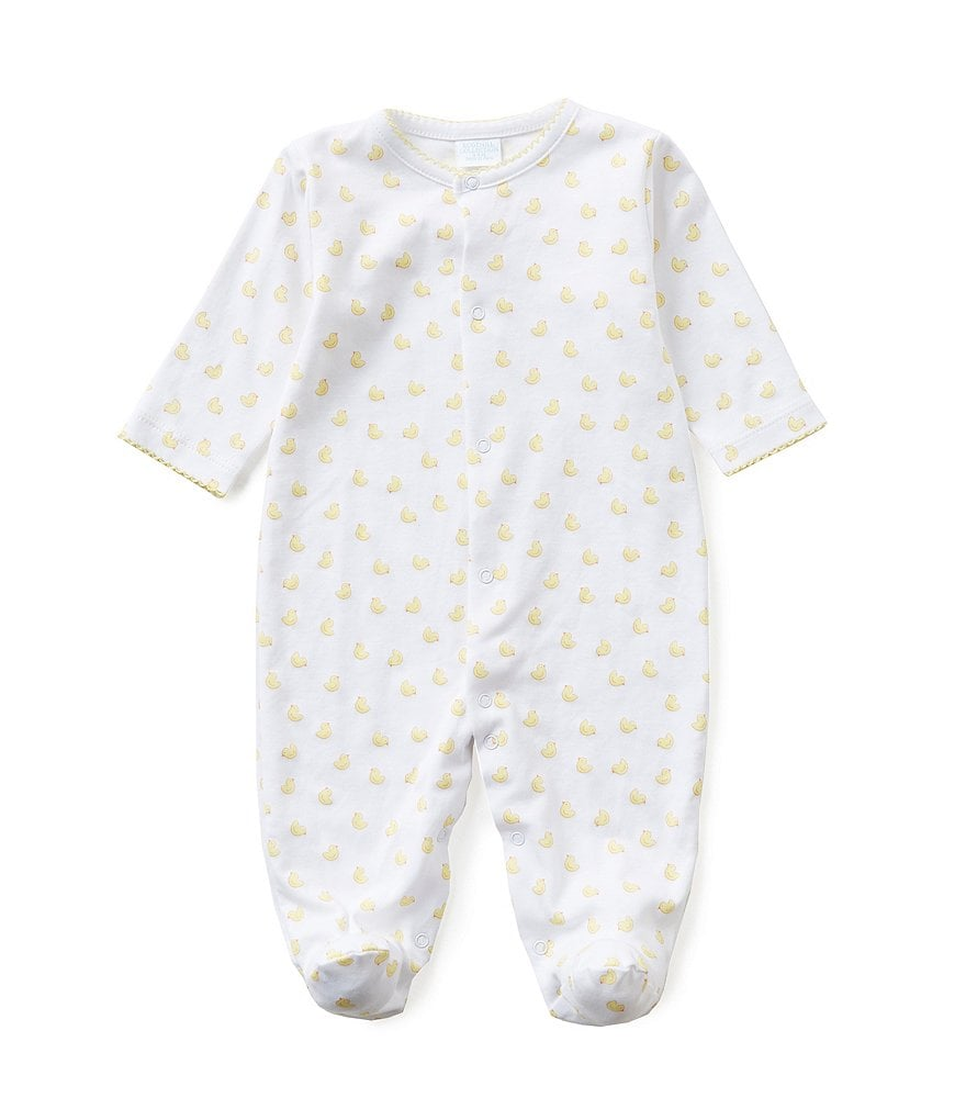 Edgehill Collection 3-6 Months Duck Print Coverall