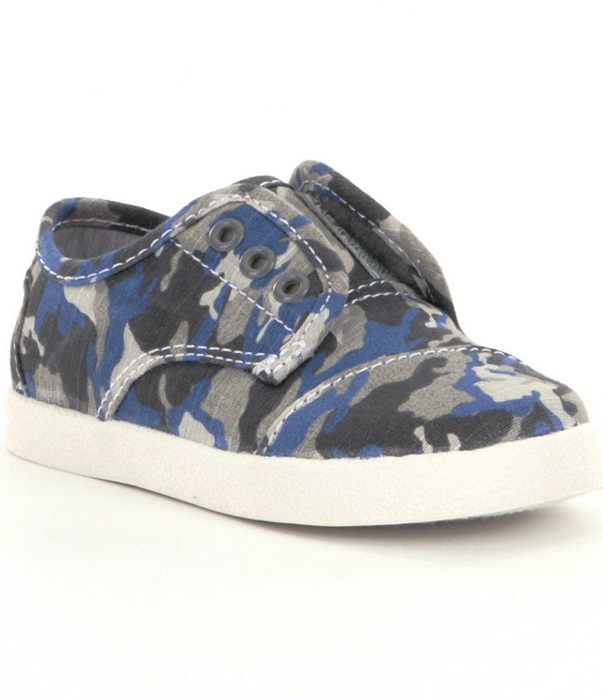 TOMS Tiny Paseo Boys' Sneakers