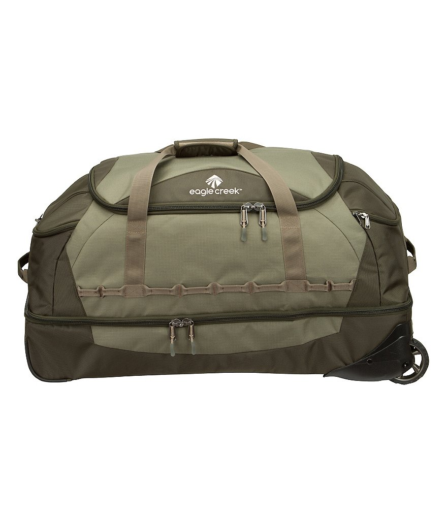 Eagle Creek Jet Current Drop-Bottom Wheeled Duffel