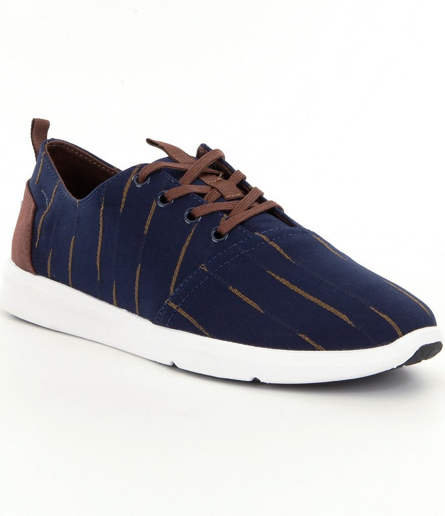 TOMS Men´s Del Ray Striped Sneakers