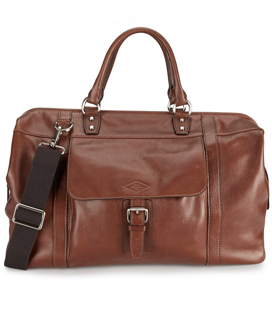 Fossil Estate Leather Duffle