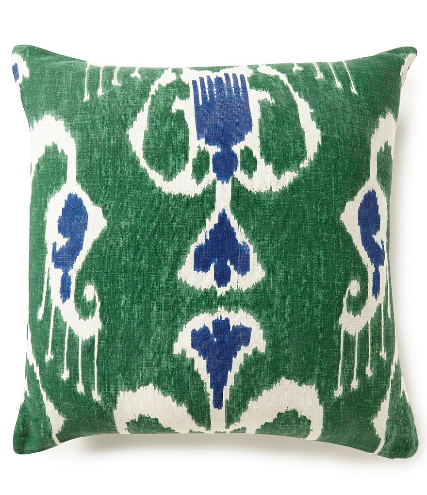 Noble Excellence Lexi Ikat Square Pillow