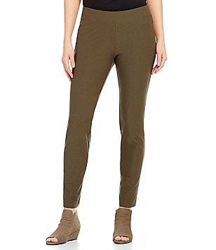 Eileen Fisher Petite Slim Ankle Pants