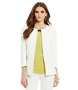 Preston & York Jennifer Stretch Crepe Suiting Jacket Image