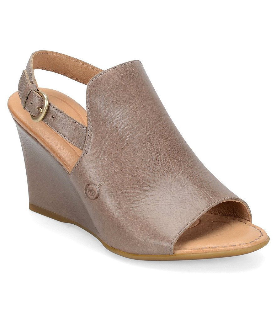 Born Bevi Wedge Sandals