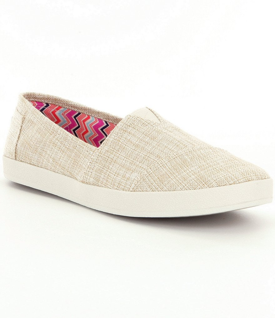 TOMS Avalon Linen Slip-On Shoes