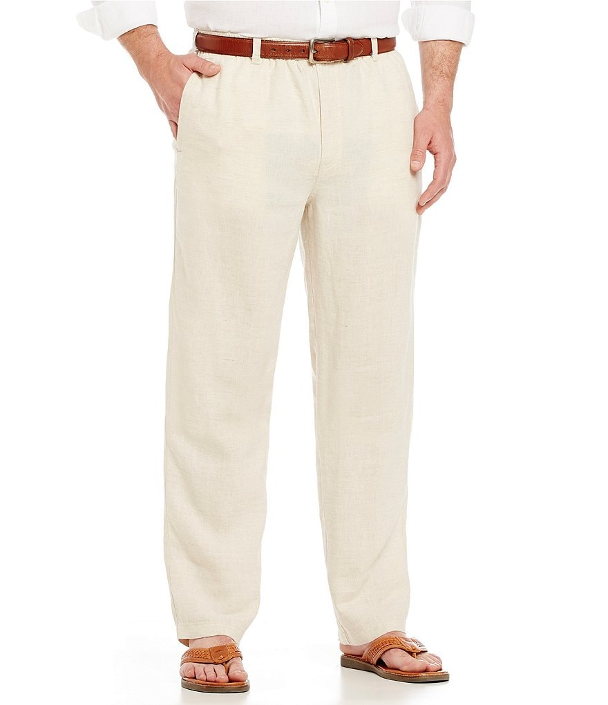 Tommy Bahama Big & Tall On the Beach Linen Pants