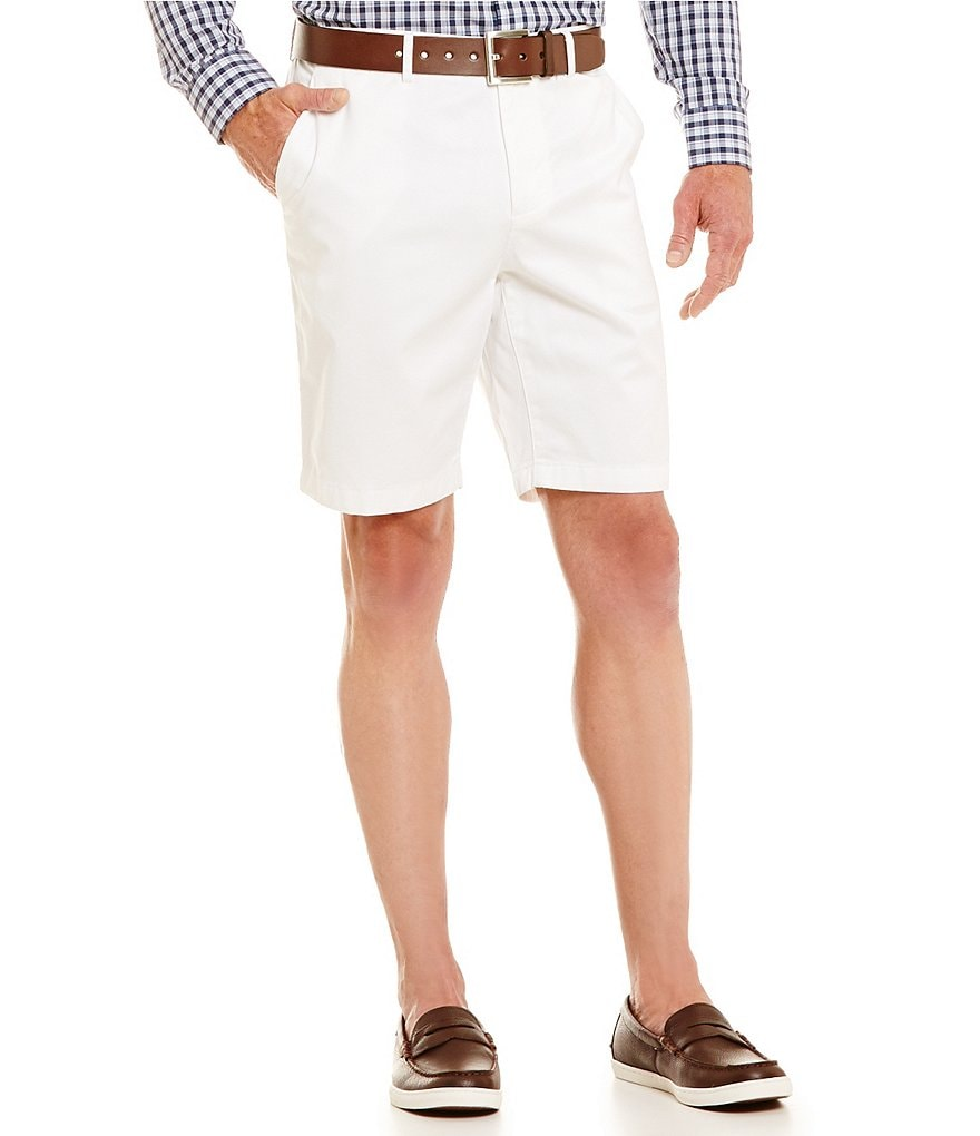 Michael Kors Tailored Flat-Front Good Shorts