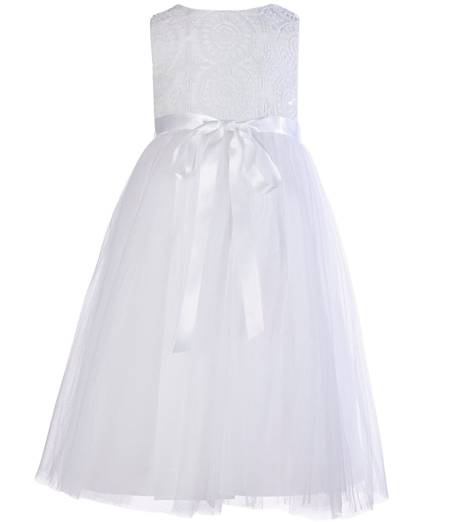 Pippa & Julie Little Girls 2T-6X Sequined Bodice Ballerina Dress