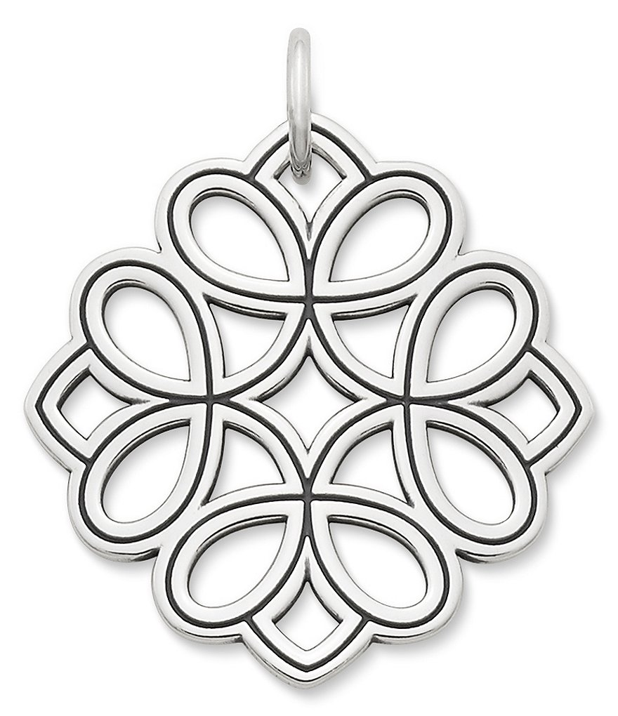 James Avery Floral Tracery Pendant