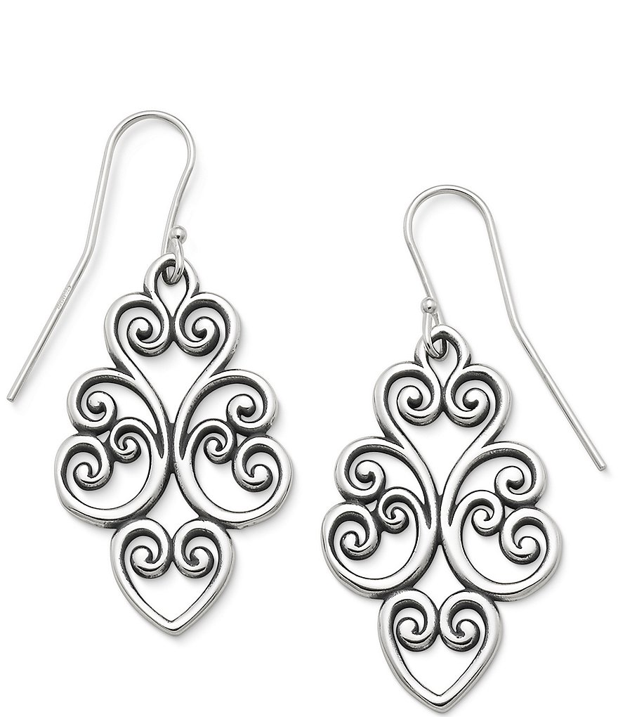 James Avery Jubilant Heart Earrings