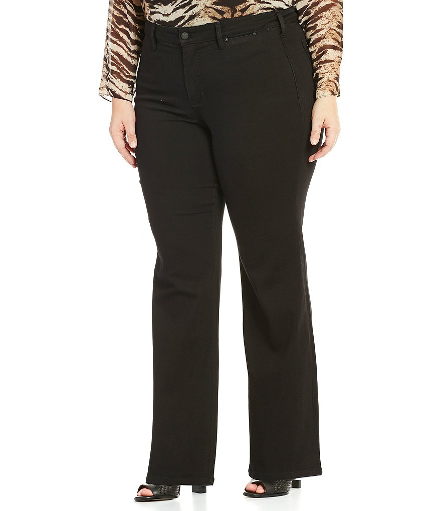 NYDJ Plus Isabella Bootcut Trouser