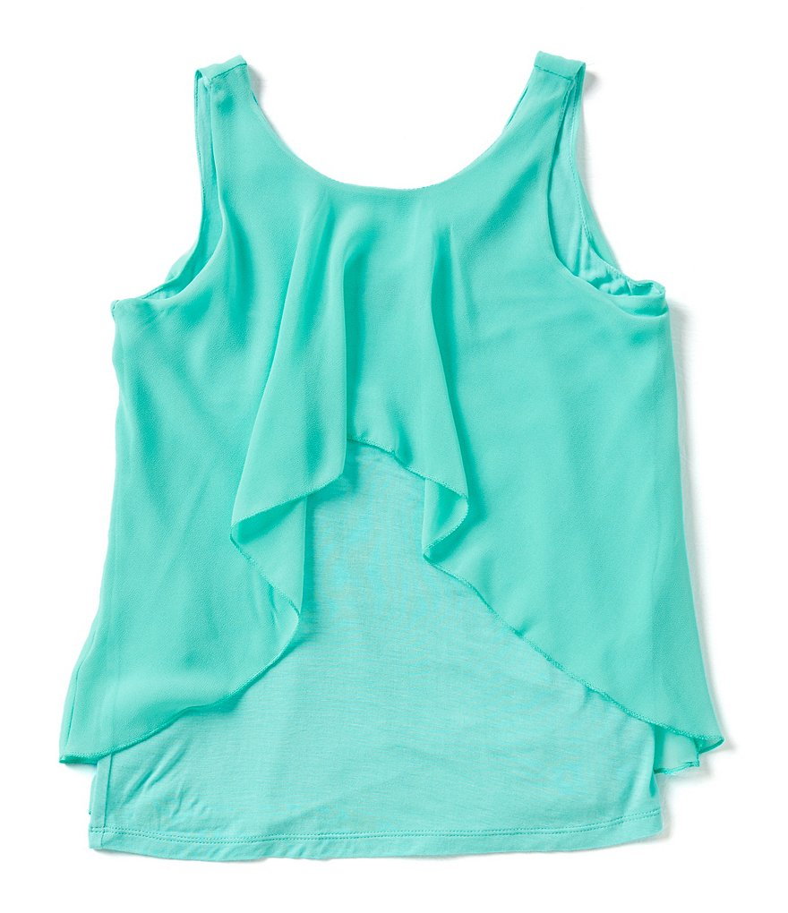 Marciano Big Girls 7-16 Flyaway Tank Top