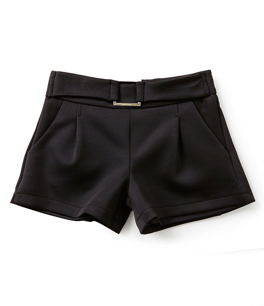 Marciano Big Girls 7-16 Faux-Belted Ponte Shorts