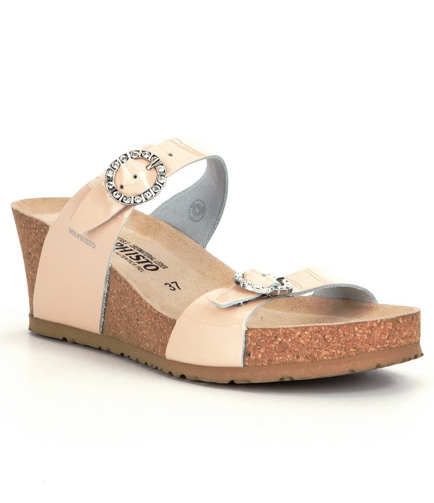 Mephisto Lidia Wedge Sandals