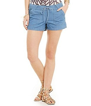 Jolt Chambray Sailor Drawstring Shorts