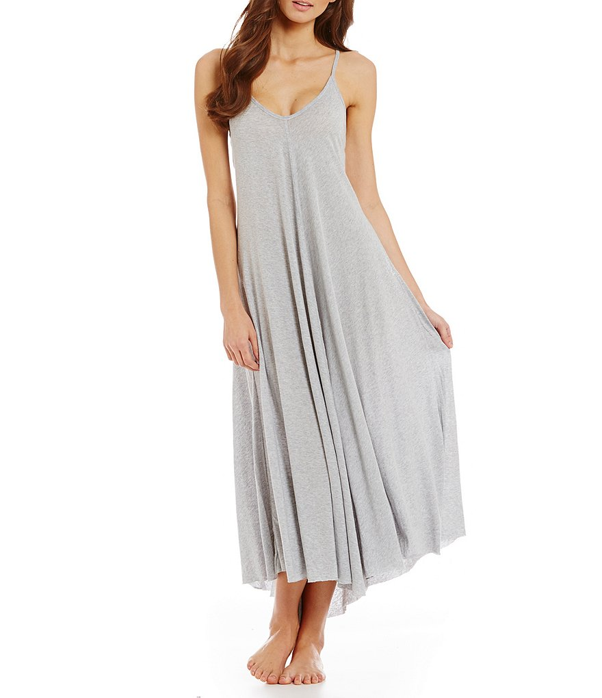OnGossamer Maxi Slip Dress