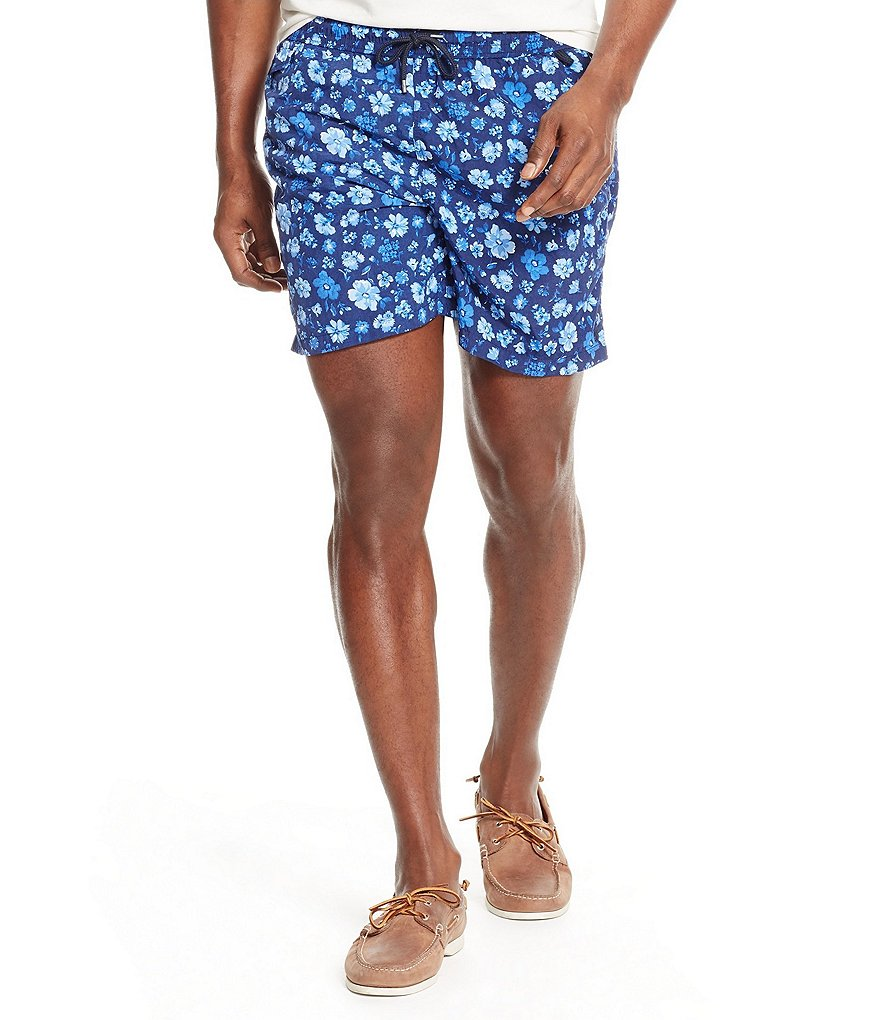 Polo Ralph Lauren Big & Tall Floral Traveler Swim Shorts
