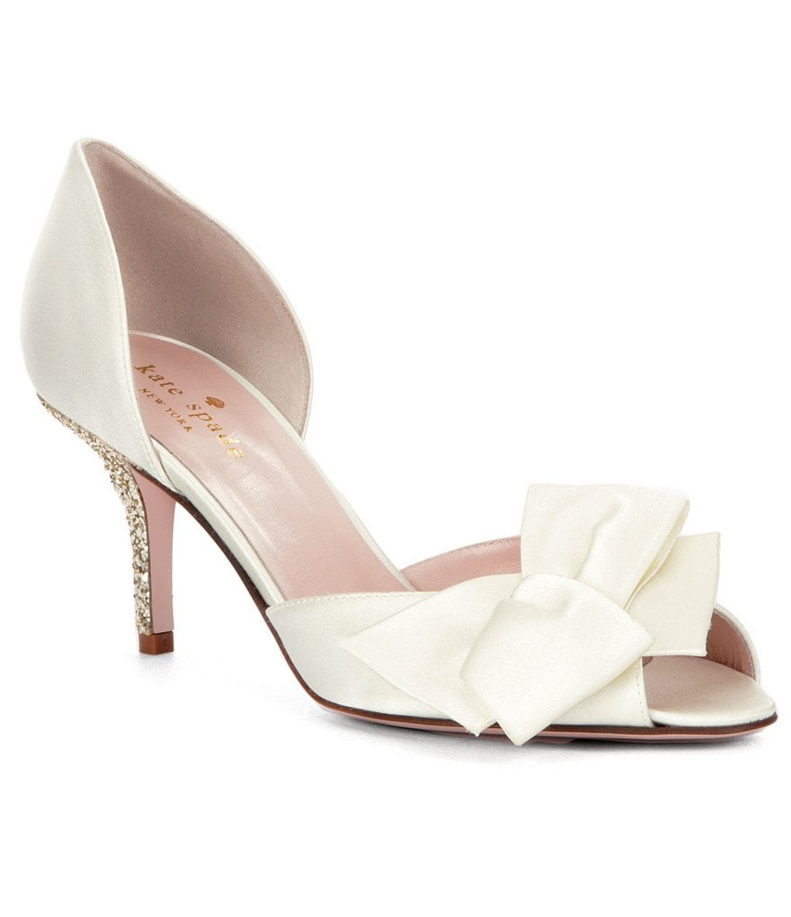 kate spade new york Sala Bow Detail Pumps