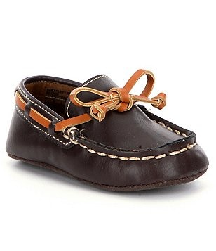 Kenneth Cole New York Boys´ Baby Flexy Boat Crib Shoe
