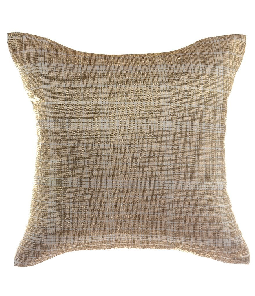 candice OLSON Amour Metallic-Embroidered Square Pillow