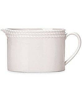 kate spade new york Wickford Rope-Embossed Porcelain Creamer Image