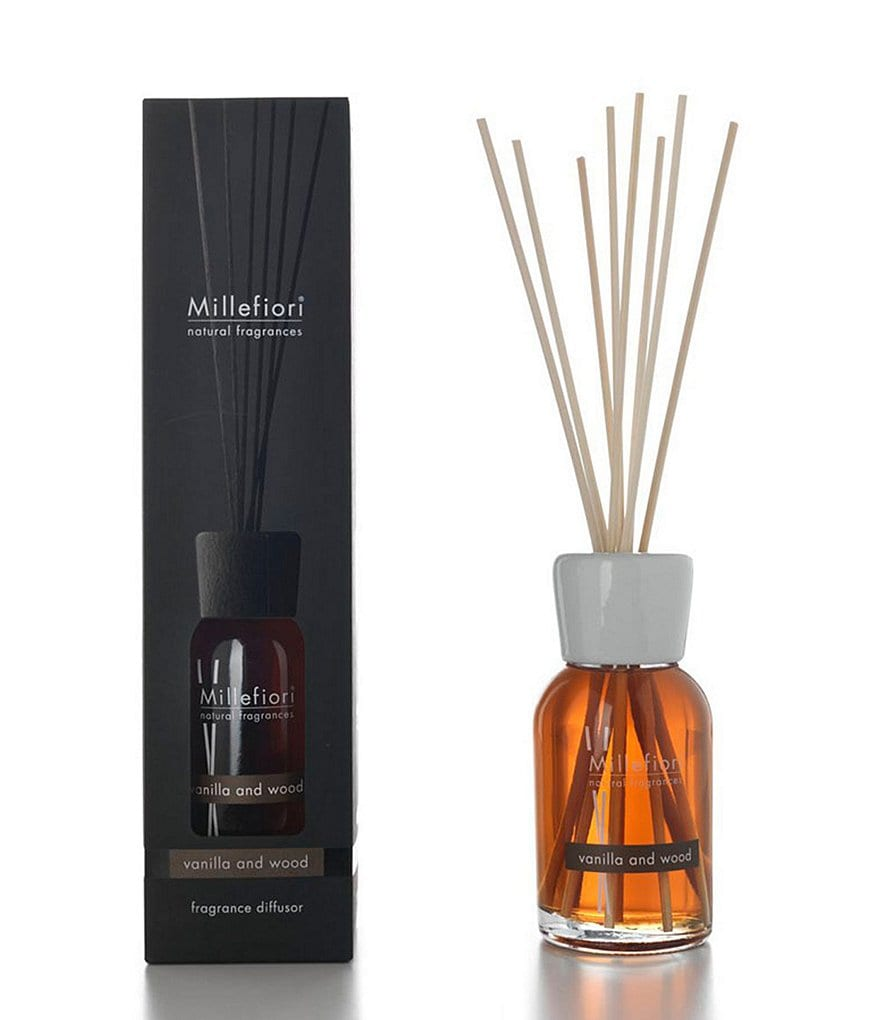Millefiori Milano Natural Fragrances Vanilla Wood Reed Diffuser