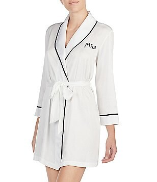kate spade new york Bridal Charmeuse Robe