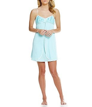 kate spade new york Bow Charmeuse Chemise