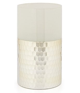 Noble Excellence Naturals Honeycomb Glass Vase