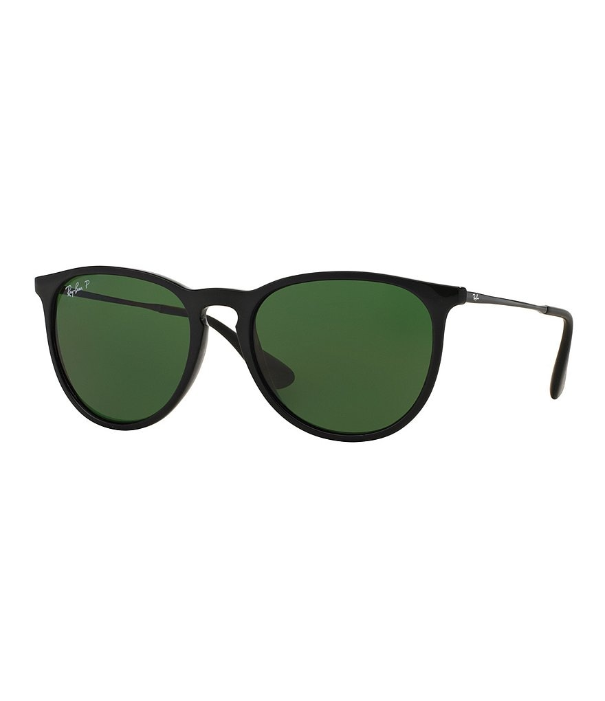 Ray-Ban Erika Polarized Round Sunglasses