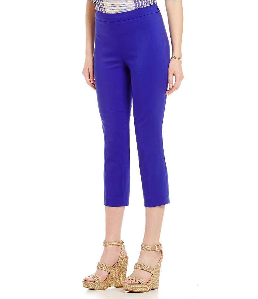 Chaus Courtney Side Zip Crop Pant