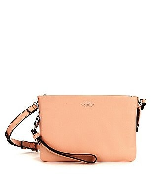 Vince Camuto Cami Metallic Cross-Body Bag