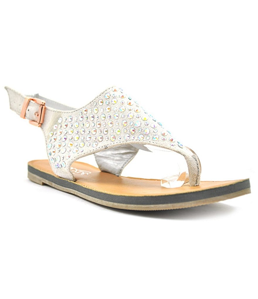Grazie Daring Jeweled Hooded Sandals