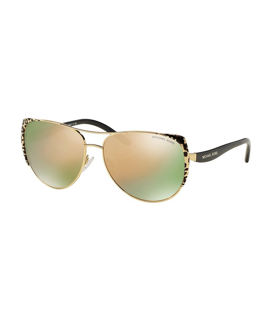 Michael Kors Sadie 1 Aviator Sunglasses