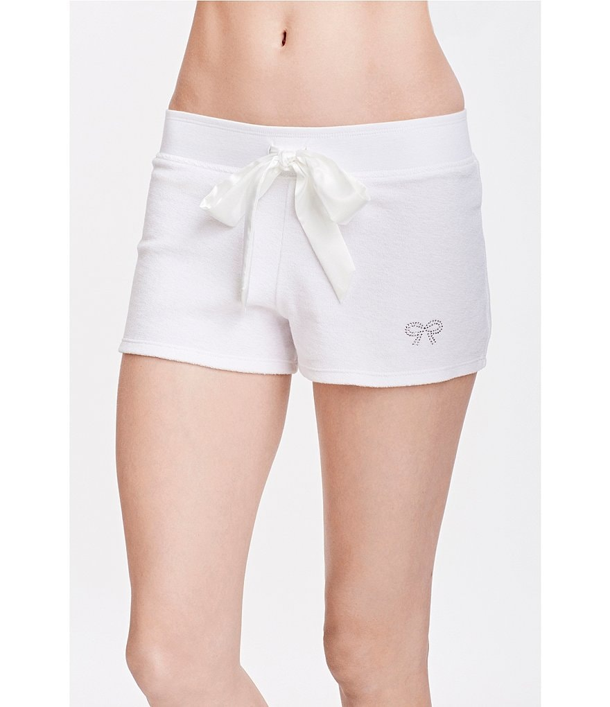 Blue by Betsey Johnson Baby Terry Bridal Sleep Shorts