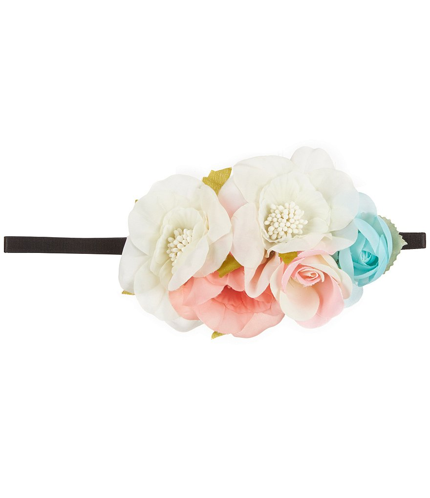 GB Girls Multi-Floral Headwrap