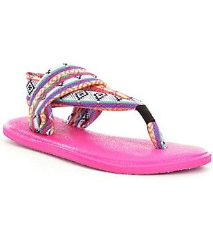 Sanuk Girls´ Yoga Mat Sling Tribal Sandals