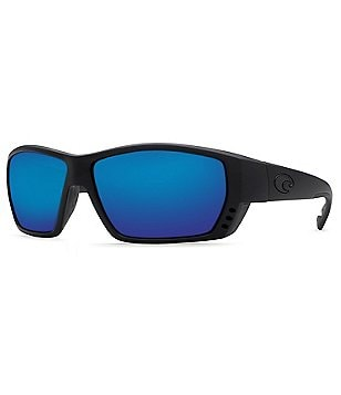 Costa Tuna Alley Blackout/Blue Mirror Polarized Sunglasses
