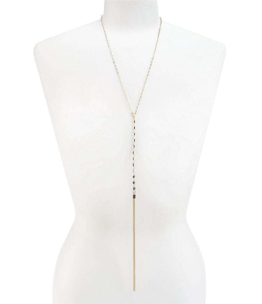 Anna & Ava Tassel Y-Necklace
