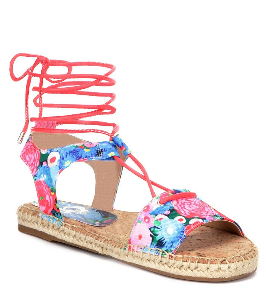 GB So-Hasty Floral Espadrilles