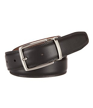 Roundtree & Yorke Manning Reversible Leather Belt