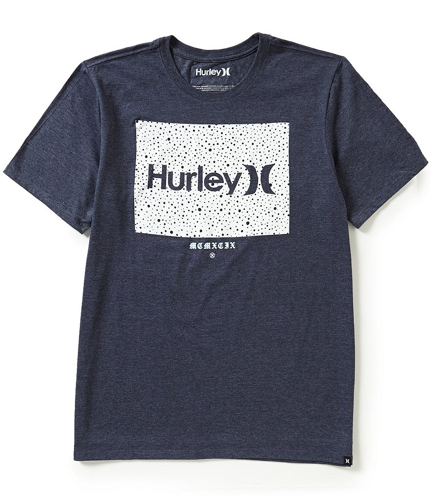 Hurley Team Short-Sleeve Crewneck Graphic Tee