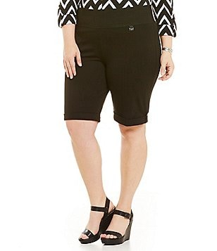 Nygard SLIMS Plus Cuffed Bermuda Shorts
