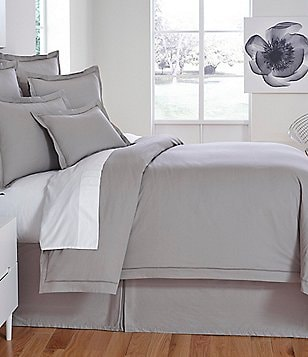 Moderne by Noble Excellence Soho Mitered Percale Duvet