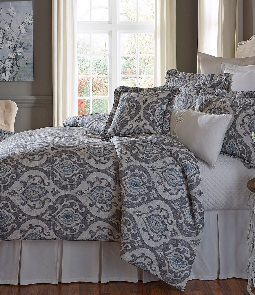 Southern Living Almira Medallion Comforter Mini Set