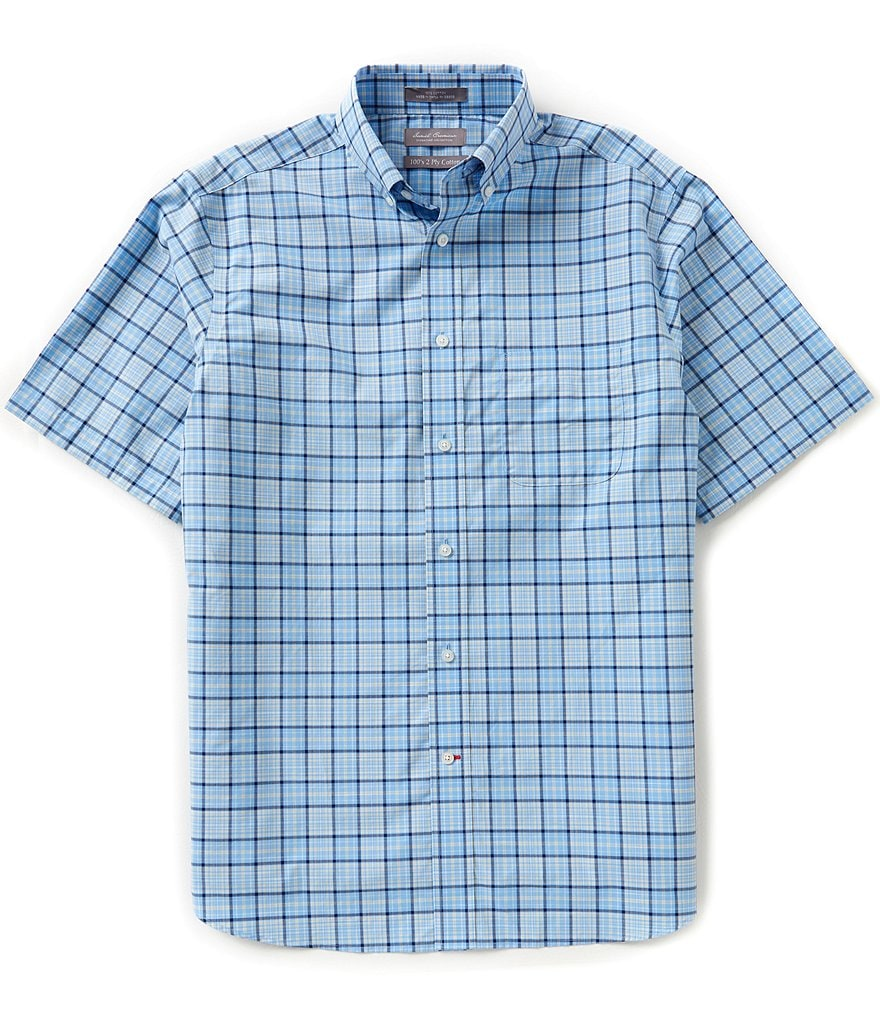 Daniel Cremieux Signature Short-Sleeve Check Woven Shirt