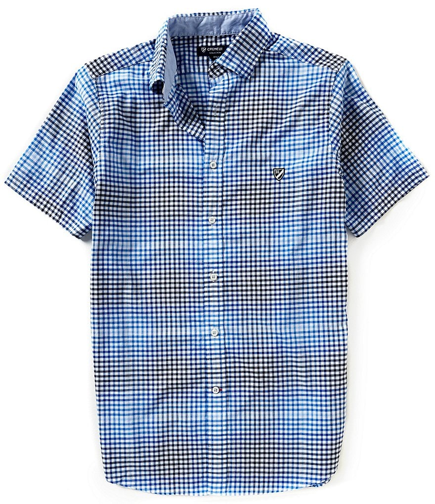 Cremieux Slim-Fit Checked Poplin Shirt