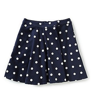 kate spade new york Big Girls 7-14 Polka Dot Skirt