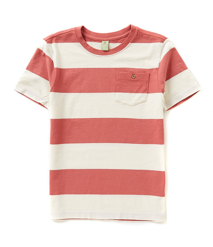 Class Club Big Boys 8-20 Striped Tee
